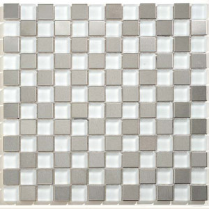 Matte-Glass-&-Stainless-Steel-Checkerboard